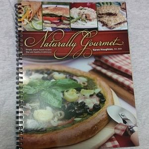 Naturally Gourmet cookbook plant-based recipes